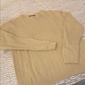 Men's/ladies XL Kashmir Italy sweater – cable knit